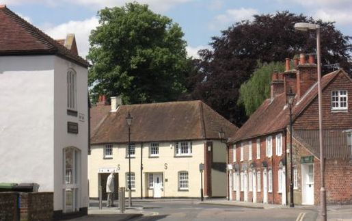 17th century houses in East Pallant, Chichester