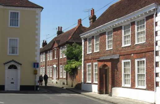St Martin's Square contains several of the finest old buildings in Chichester