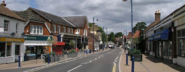 picture of the High Street in Billingshurst