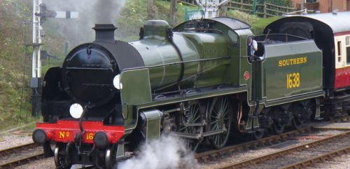 picture of the Bluebell Railway near Horsted Keynes
