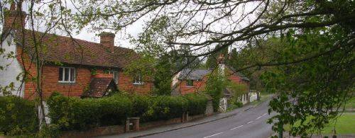 Picture of Church Street, Rudgwick in West Sussex.