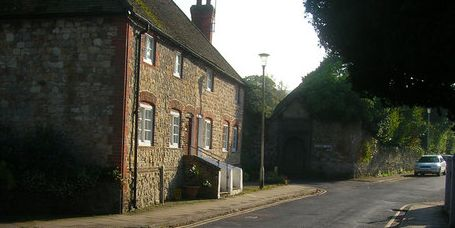picture of the the Church Street, Storrington in West Sussex.