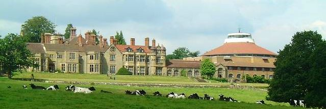 picture of Worth Abbey and School near Crawley in West Sussex.