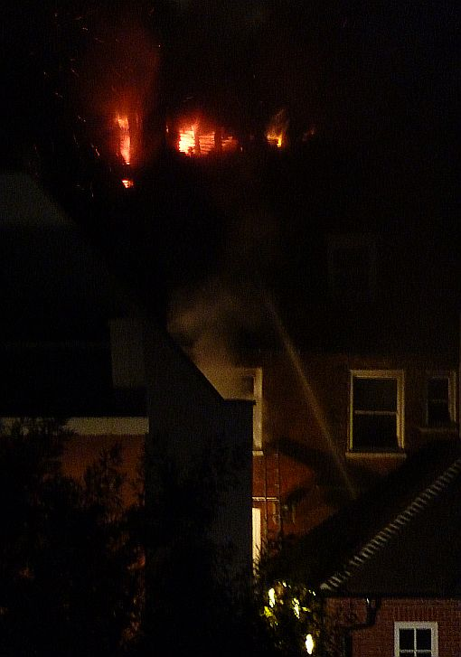 Fire at Fat Face in Chichester