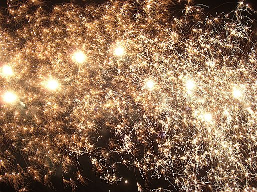 Picture of firework displays sussex