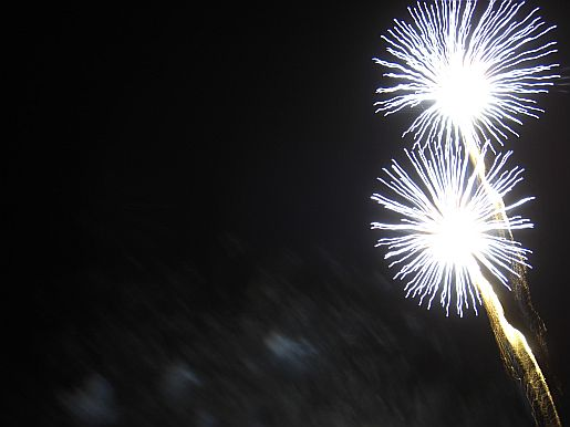 Picture of fireworks displays west sussex